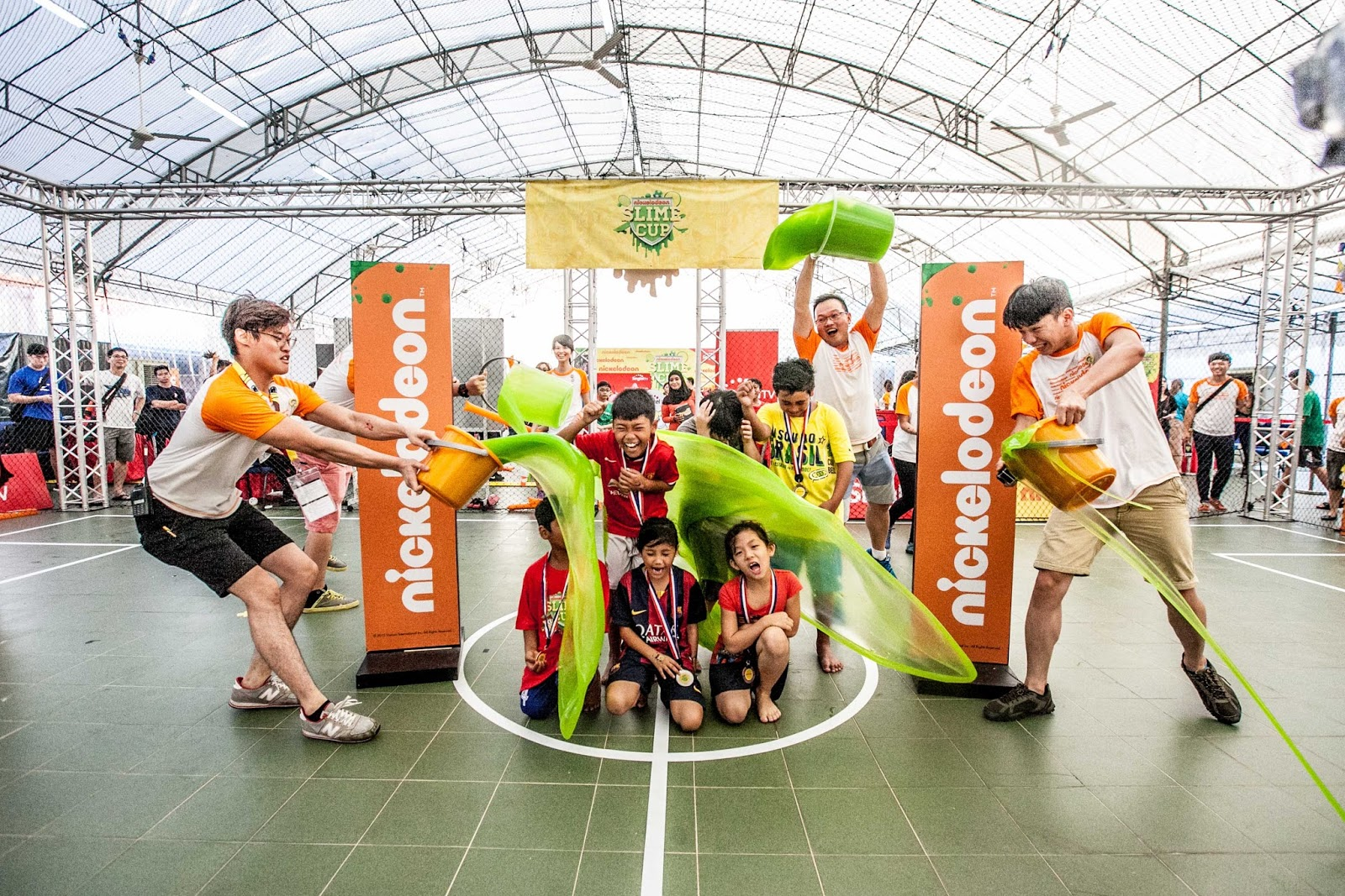 Character Design Course Singapore : Slime cup nickelodeon paxgon communication sdn bhd